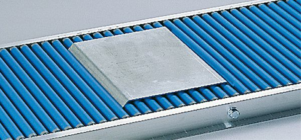 Bremsblech für 500mm Breite, verzinkt
