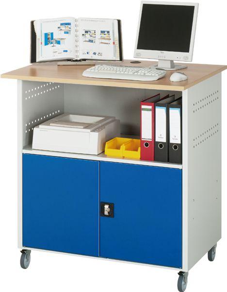 Computer-Tisch Typ 1 fahrbar