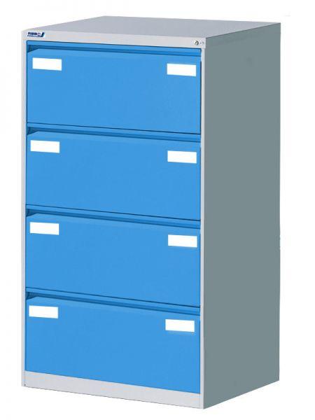 Stahl-Karteischrank DINA 4 quer Serie C2000