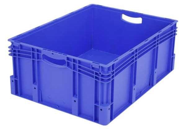 Euro-Stapelbehälter XL, 127 l, mit doppeltem Boden, bis 200 kg belastbar, 600x800x320mm