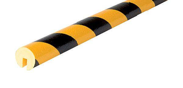 Warn- und Schutzprofil, Kantenschutz Typ K-1, zum Aufstecken
