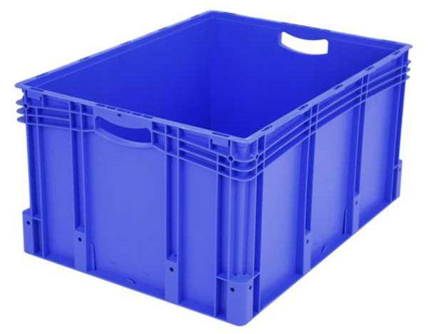 Euro-Stapelbehälter XL, 174 l, mit Standardboden, bis 60 kg belastbar, 600x800x420mm