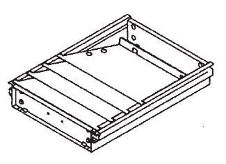 Stahl-Formulareinsatz für 4 x DIN A4