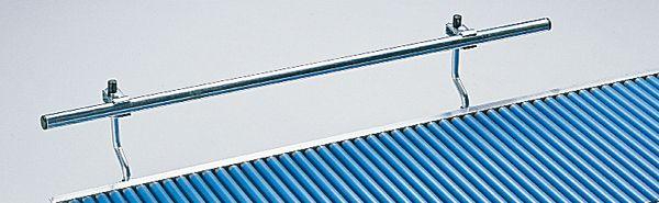 Stahlführungen beidseitig 1m , Ø 25 mm