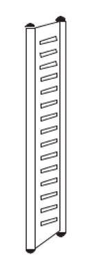 End-Seitenrahmen Höhe 1800 mm Serie M2