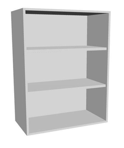 Aufsatz-Schrankregal 3 Ordnerhöhen 1000mm breit Serie dataline