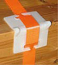 VE = 10 Stück Kantenschutzwinkel aus PVC für Bandbreiten bis 55 mm