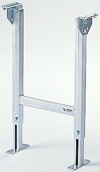 Zweifuß-Stützbock 500mm, verstellbar, verzinkt