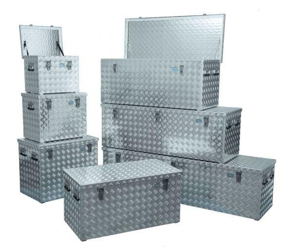 Aluminium-Transportkisten