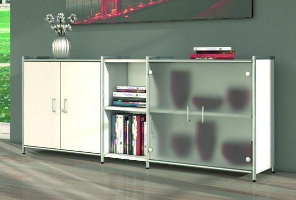 Sideboard mit Vorbautüren Serie artline