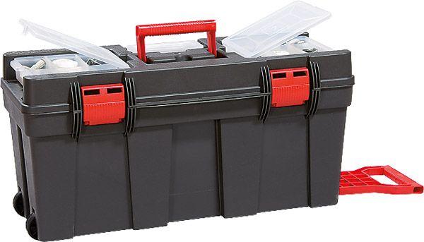 Werkzeugkoffer-Trolley Magnus Eco Typ 2, anthrazit/rot, B650x280x320mm