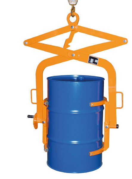 Fasswendezange für 200 L Fässer, L425 x B1100 x H1350mm, Tragkraft 300 kg