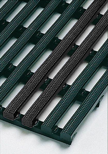 lfd. Meter Industriematte, schwarz