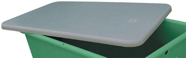 Flachdeckel, für 800x500mm