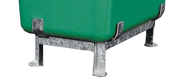 Stahlfußgestell für GFK-Behälter 550 Liter Inhalt