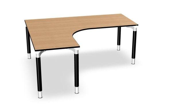 Winkel-Schreibtisch links Serie dataline RQ