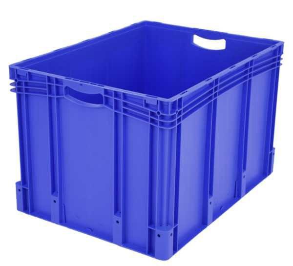 Euro-Stapelbehälter XL, 217 l, mit Standardboden, bis 60 kg belastbar, 600x800x520mm