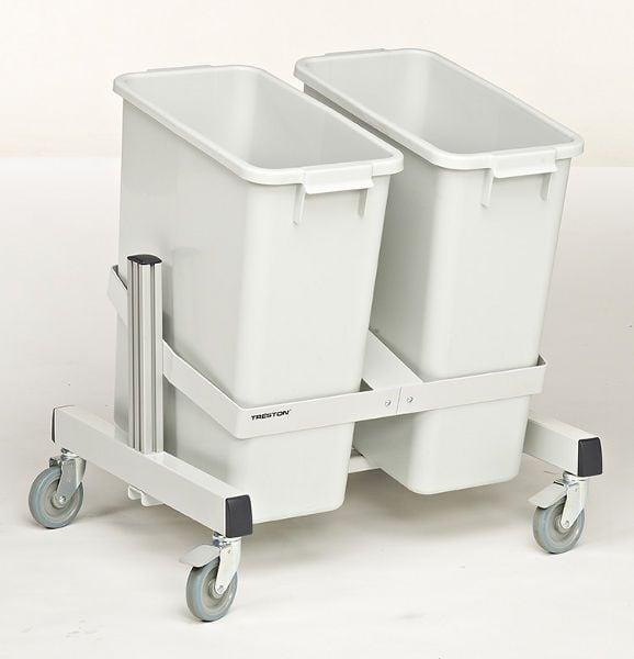 Behälter-Transportwagen mit 2 Behältern