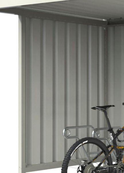 Trapezblech-Seitenwand für Überdachung Serie Leipzig