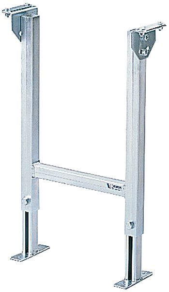 Zweifuß-Stützbock 450mm Breite, verstellbar, verzinkt