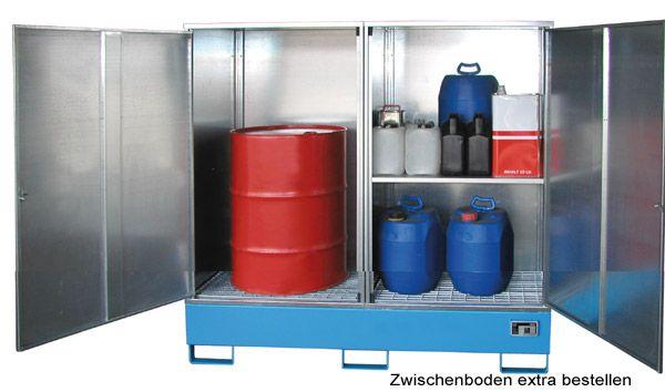 Gefahrstoff-Schrank Typ 2, B1680xT690xH1780mm