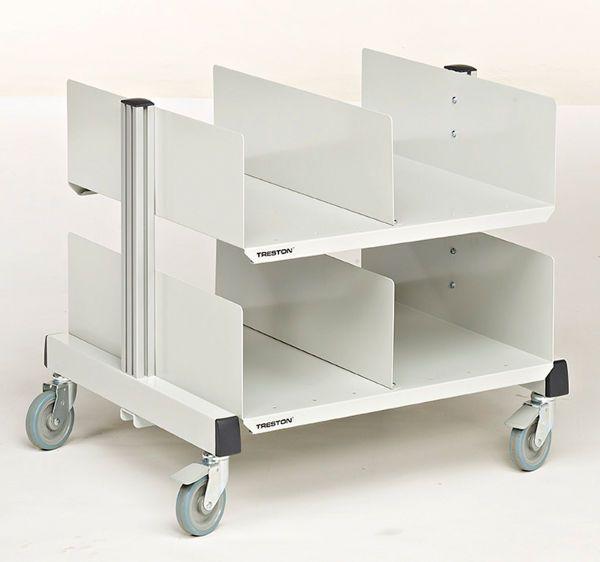 Verpackungsmaterial-Wagen
