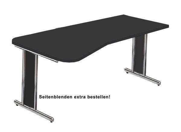 Schreibtisch mit Überstand Serie artline