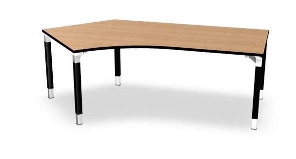 Kompakt-Schreibtisch links Serie dataline QQ