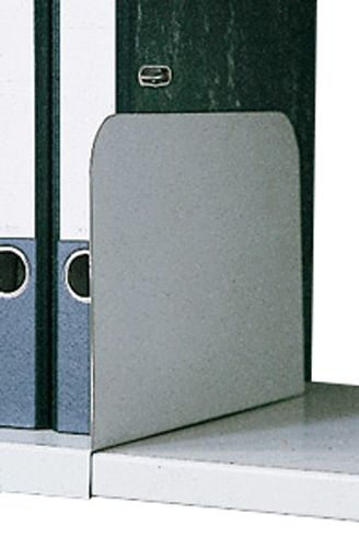 Stahl-Aktenstütz aufschiebbar anthrazitgrau für Stahl-Einlegeboden