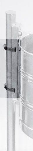 Schellenbänder zur Befestigung an alle Pfosten bis Ø260mm, VE = 2 Stück