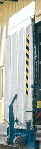 Alu-Überladebrücke, stationär, B 2000 mm, Tragkraft 4000 kg