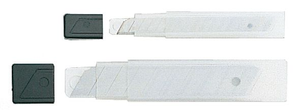VE = 12 Ersatzklingen für Cutter mit 9mm Klinge
