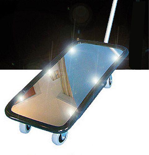 Kontollspiegel Typ KSL 1 mit Beleuchtung, Acrylglas, 200 x 400mm