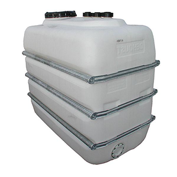 Raumspartank für 3000 Liter Inhalt, 2230x1000x1650mm