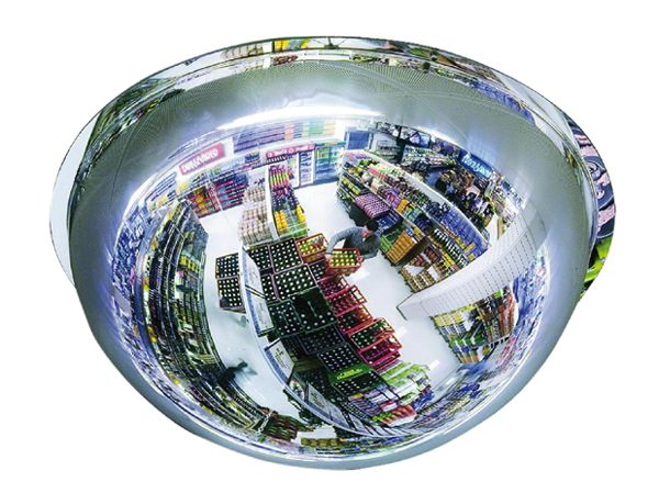 Kuppelspiegel Typ KS, 360°, Acrylglas