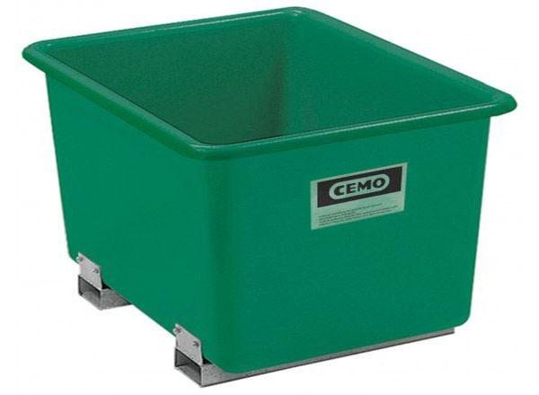 GFK-Behälter 1500 Liter, mit Staplertaschen