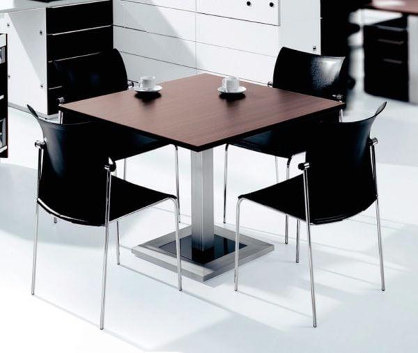 DESIGN-Konferenztisch stufenlos höheneinstellbar