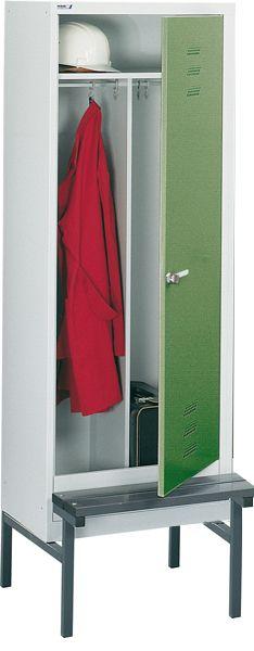 Stahl-Kleiderschrank, 1 Abteil