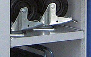 Stahlboden Schwerlast-Flügeltürenschrank Typ 31
