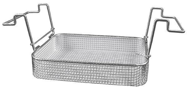 Edelstahl-Einhängekorb für bis 10 kg Belastung, B200xT110xH40mm