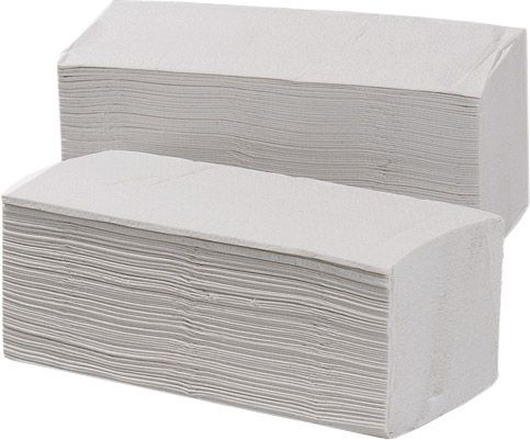 Pack = 2250 Falthandtücher für 450.0664.00, Interfold 2-lagig je 250x215mm, recycelt