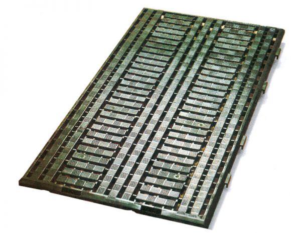 VE = 5 Industrie-Bodenroste 1200x600mm