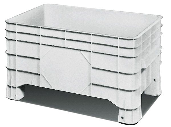 Groß-Stapelbehälter, 220 Liter Inhalt, Tragkraft 300kg, 1020x635x550mm