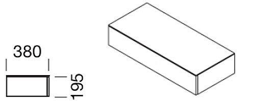 Hänge-Schubladenschrank für Modul-Wandsystem, Collection Multiwa