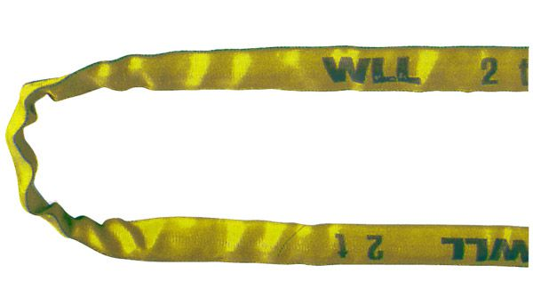 Rundschlinge, gelb, Nenntragfähigkeit 3 t