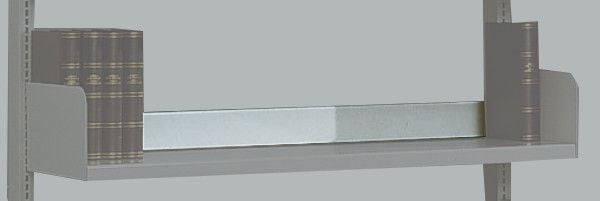Abschlußleiste 750mm lichtgrau Serie K 70-BV