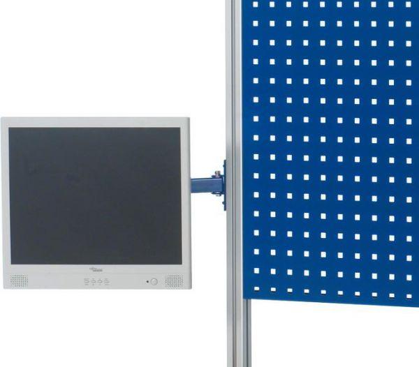 Montageadapter für Flach-Bildschirm mit 2 Bohrbildern