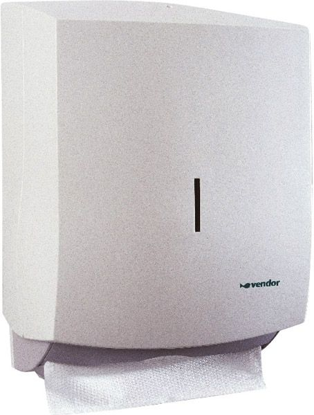 vendor Falt-Handtuchspender Vision, weiß, B300xT130xH375mm