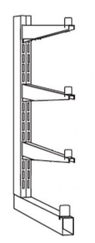 End-Kragarmständer Serie S-KM