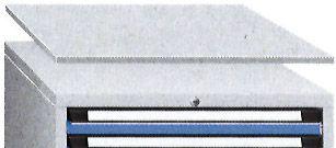 Kunststoffbeschichtete Abdeckplatte, Serie 700